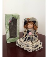 Fancy Friends Collectables Porcelain Doll Ornaments Hand Pinted Eurpean ... - $13.86