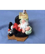 "Vintage Stone Avenue Collecor's Paradise Sleeping Santa ""Have a rest""  F... - $19.00"