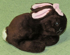 "8"" Commonwealth Vintage ITTY BITTY BUNNY Plush Stuffed Brown Rabbit East... - $21.78"