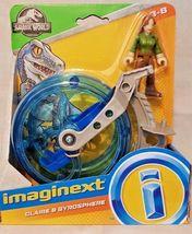 Fisher-Price Imaginext Jurassic World Fallen Kingdom, Claire & Gyrosphere - $11.99