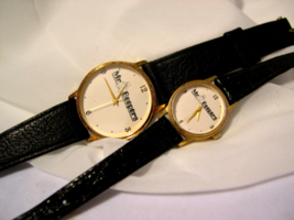 C07, Two Mr. Beepers, White Faced Watches, For Men & Women, see sizes below - $35.99