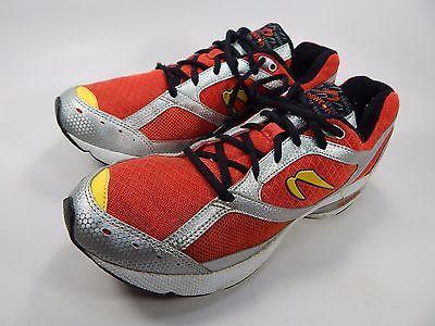Newton Sir Isaac Men's Running Shoes Size US 9 M (D) EU 42 Red Silver Yellow