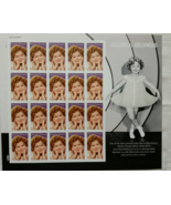 SHIRLEY TEMPLE (1928 -2014) - 2016 (USPS) STAMP SHEET 20 FOREVER STAMPS - $14.95