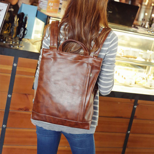 Primary image for NEW  Women's Street style Backpack Handbag Travel Rucksack Shoulder School Bag