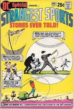 DC Special Comic Book #9 Strangest Sports Stories DC Comics 1970 NEAR MINT- - $59.90