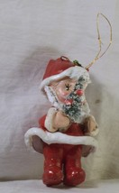 #1583 Very Old Santa Claus - Paper Mache - $10.00