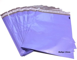 50 PURPLE COLOR POLY SHIPPING BAGS 9 x 12 PLAST... - $8.39