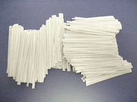 "4,000 PLASTIC TWIST TIES WHITE 4""  INCHES - GEN... - $23.24"