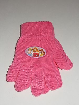 Disney Princess Pink Winter Gloves NEW image 2