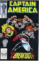 Captain America Comic Book #340 Marvel Comics1988 NEAR MINT - $3.99