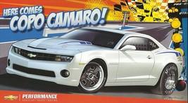 2012 Chevrolet CAMARO COPO STOCK ELIMINATOR CONCEPT brochure sheet card ... - $9.00