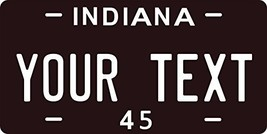 Indiana 1945 Personalized Tag Vehicle Car Auto License Plate - $16.75