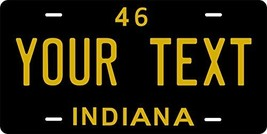 Indiana 1946 Personalized Tag Vehicle Car Auto License Plate - $16.75
