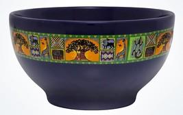 Disney Parks Animal Kingdom Tree Of Life Dinner Bowl Kente Design New - $17.27
