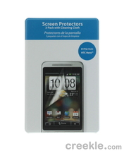 NEW Sprint HTC Hero Xentris Wireless Screen Protector Film Cleaning Cloth 3 Pack - $4.99