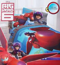 Disney Big Hero 6 Robots Movie Twin Comforter Sheets Pc 5PC Bedding Set New - $122.01