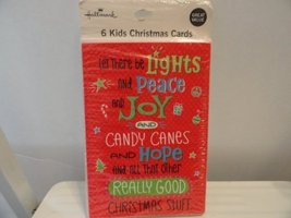 6 Kids Christmas Cards - $1.49