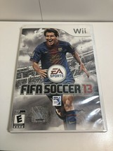 FIFA Soccer 13 2013 Nintendo Wii Wii U Complete CIB - $15.51