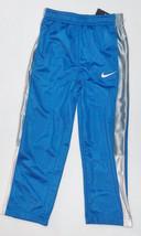 Nike Boys Athletic Pants Blue Silver Stripe Size 4 NWT - $17.98