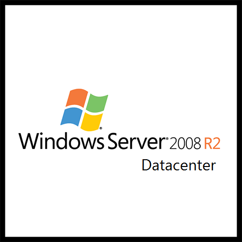 Primary image for Windows Server 2008 R2 Datacenter 64-bit (English)