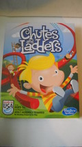 NEW BOARD GAME CHUTES AND LADDERSHASBRO AGES 3+ - $4.95