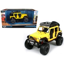 2015 Jeep Wrangler Unlimited Yellow Off Road Kings 1/24 - $72.93