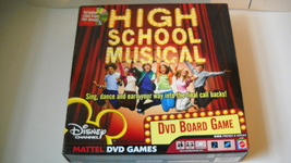 NEW DVD BOARD GAME HIGH SCHOOL MUSICAL - $4.95