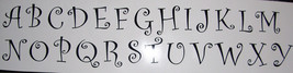 """6"""" Vinyl Letter Decals, All 26 letters or 26 of one letter - $17.00"""