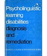 Psycholinguistic Learning Disabilities Diagnosi... - $4.95