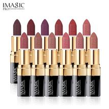 IMAGIC 12 Colors  Matte Lipstick Makeup Lips Waterproof Long Lasting Lip... - $5.68