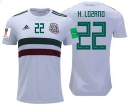 NWT MÉXICO WORLD CUP HIRVING LOZANO FAN AWAY JERSEY  - $54.99