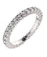 0.35 Carat Genuine G VS2 Diamond Eternity Ring in 14k Gold - $599.00