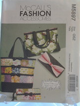 McCall's M5897 (4) Different Totes & Bags Designer Karina Hittle dated 2009, New - $5.75
