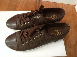 NEW MICHAEL Michael Kors Women's City Sneaker MK Signature Size 8 New - $74.25