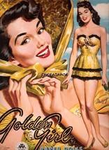 VINTAGE UNCUT 1953 GOLDEN GIRL PAPER DOLLS~#1 R... - $19.98