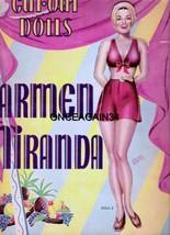 VINTAGE UNCUT 1942 CARMEN MIRANDA PAPER DOLLS~#... - $21.99