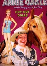 VINTAGE UNCUT 1955 ANNIE OAKLEY PAPER DOLLS~#1 ... - $19.99