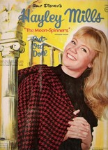 VINTAGE UNCUT 1964 HAYLEY MILLS MOON-SPINNERS PAPER DOLLS~#1 REPRODUCTIO... - $18.99