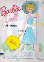 VINTAGE UNCUT 1962 BARBIE PAPER DOLLS~#1 REPRODUCTION~WONDERFUL SET~OUT ... - $18.99