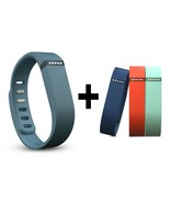 Fitbit Flex Slate - Large + 3 Large Accessory B... - $50.00