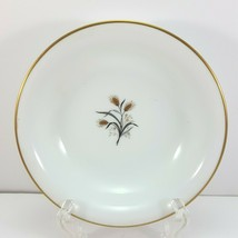 "Noritake Wheatcroft Berry Bowl 5.5"" White and Gold Dessert 5852  - $7.92"