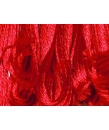 S321 Bright Red   DMC Embroidery Satin Floss - $1.50
