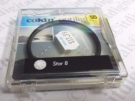 Genuine Cokin France 55mm Star 8 Special Effect Lens Filter  Star8 Cokin... - $13.09
