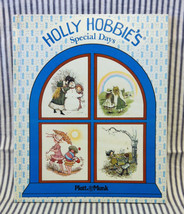 Vintage 1978 Holly Hobbie's Special Days large HC book Platt & Munk poems - $4.00