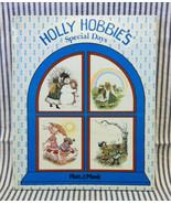 Vintage 1978 Holly Hobbie's Special Days large HC book Platt & Munk poems - $4.00
