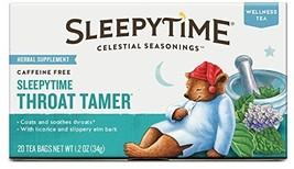 Celestial Seasonings Sleepytime Throat Tamer Te... - $9.32