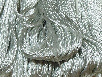 DMC Satin Floss 8.7 Yards-Silver Cloud