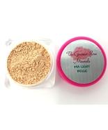 #4A LIGHT BEIGE Bare Foundation Makeup Minerals Sheer Acne Cover SAMPLE JAR - $3.95