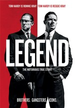 Legend (DVD, 2016) (DVD, 2016)