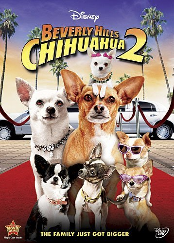 Disney Beverly Hills Chihuahua 2 (DVD, 2011)